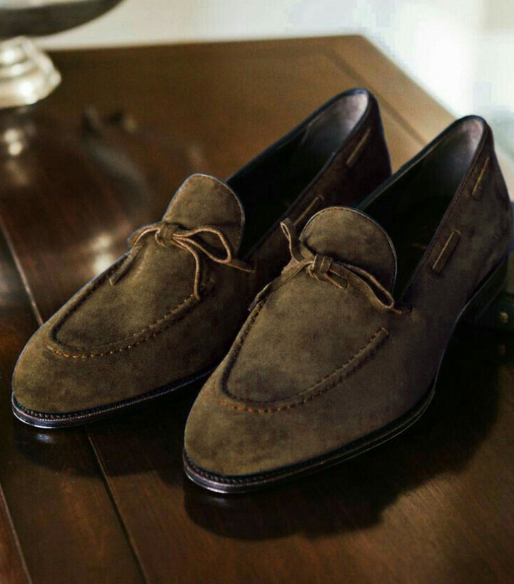 Handmade New Style Men Tassels Brown Moccasin Formal Dress Shoes,New Shoes